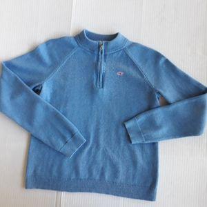 Vineyard Vines Boys Sweater  Light Blue Size XL 16